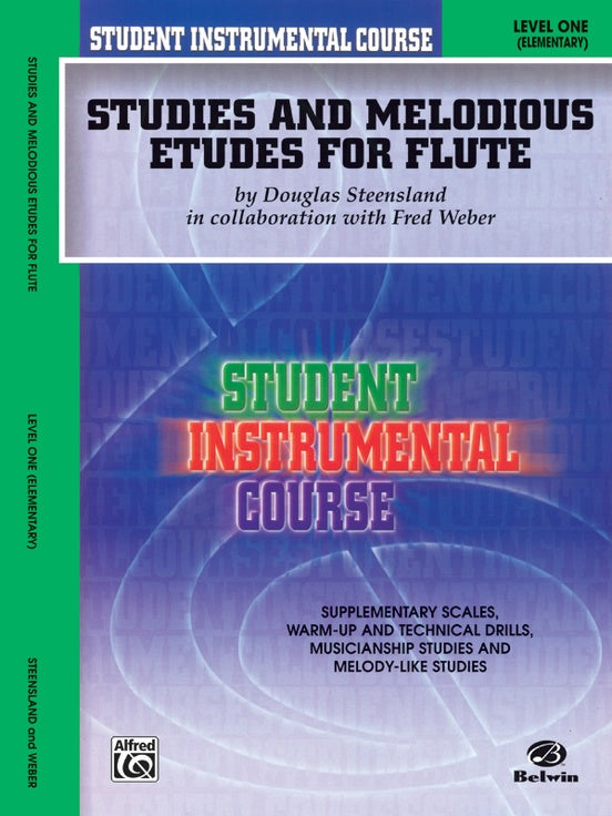 Studies and Melodious Etudes for Flutes Level One