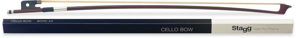 STAGG BOVNC 4/4 CELLO BOW WITH HORSEHAIR