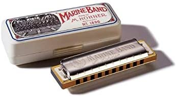 Hohner Marine Band Harmonica 1986BX-D, Key Of D