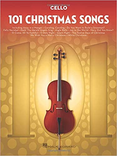 101 Christmas Songs Cello