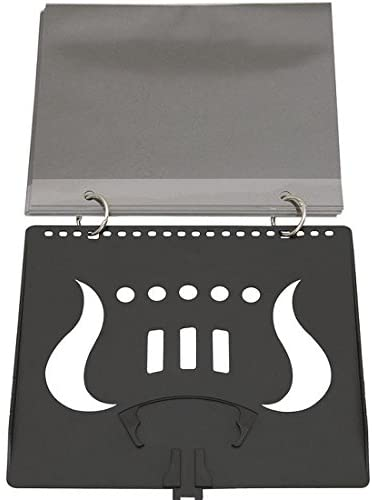 DEG Flip Folder w/5 clear window pages