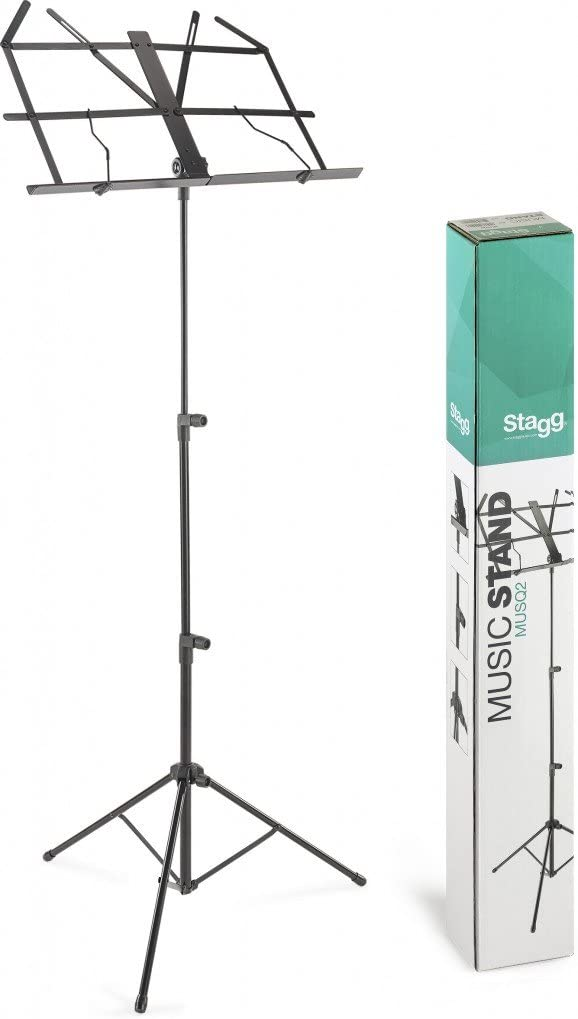 Stagg MUSQ2 Two Section Economy Foldable Music Stand
