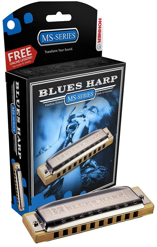 Hohner 532BX Blues Harp Harmonica - Key of A
