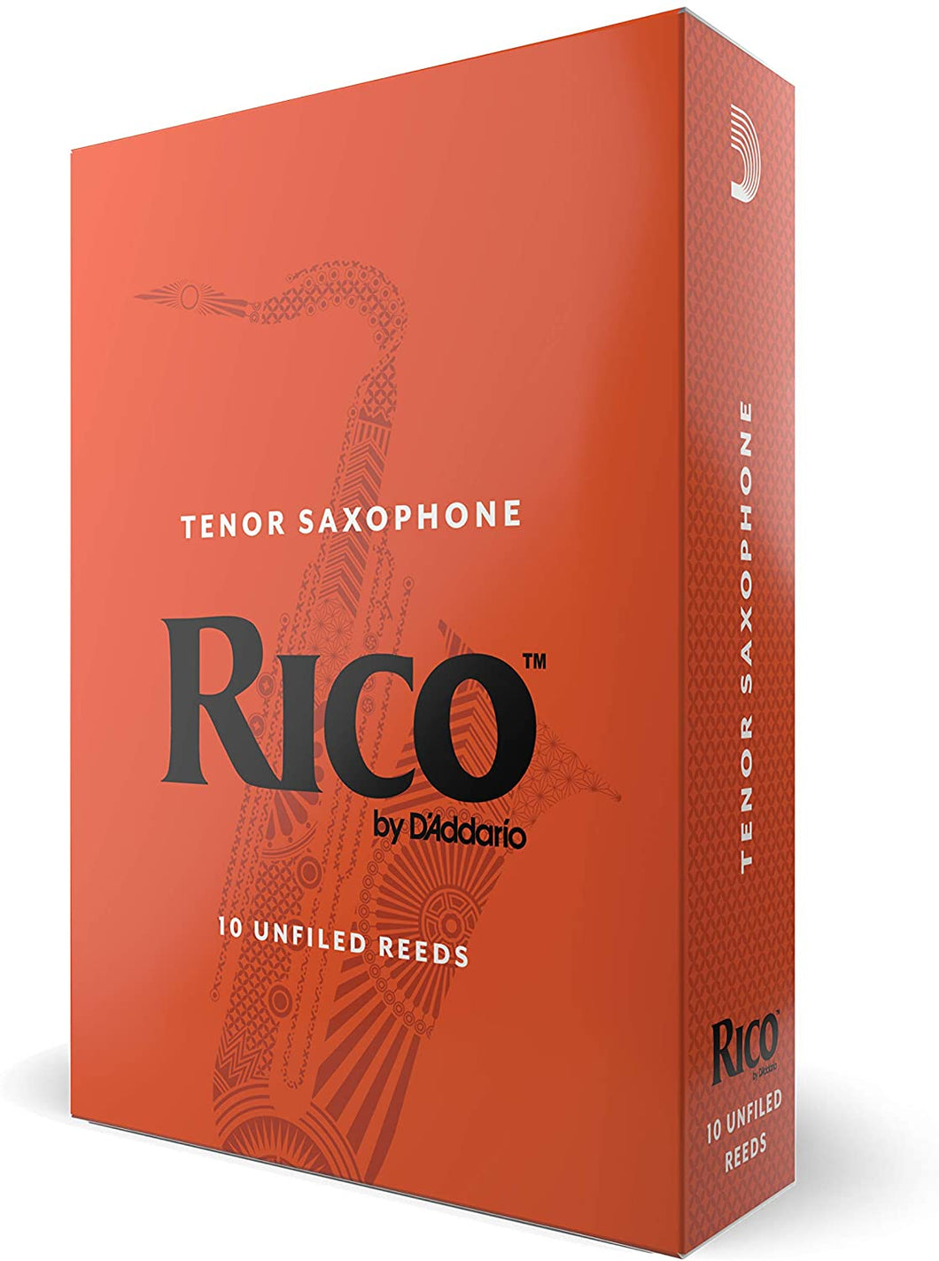 Rico Tenor Sax Reeds, Strength 3.5 RKA1035, 10-pack