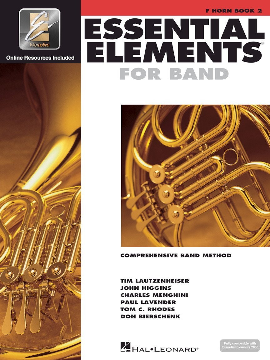 Essential Elements for Band Book 2 French Horn