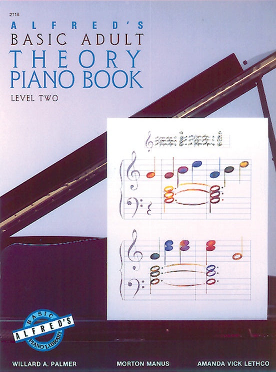Alfred's Basic Adult Piano Theory Book Level 2