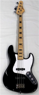 Austin AJB300BK Jazz Bass Black