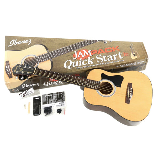 Ibanez IJV30 3/4 Acoustic Guitar Jam Pack