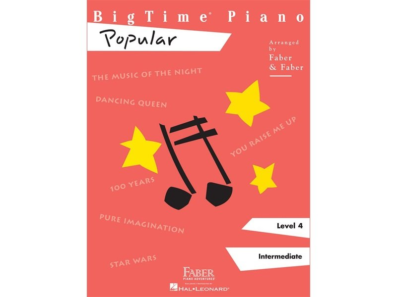 Bigtime Piano Level 4 Popular