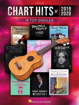 Chart Hits Of 2019-2020 For Ukulele