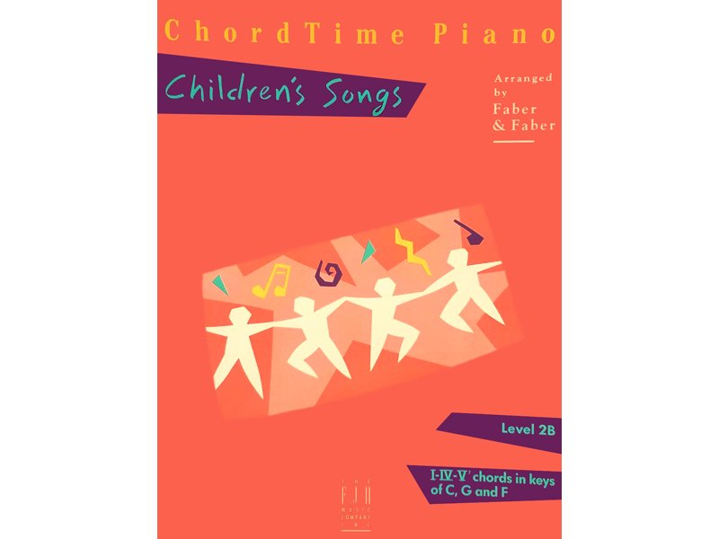 Chordtime Piano Level 2B Kids Songs