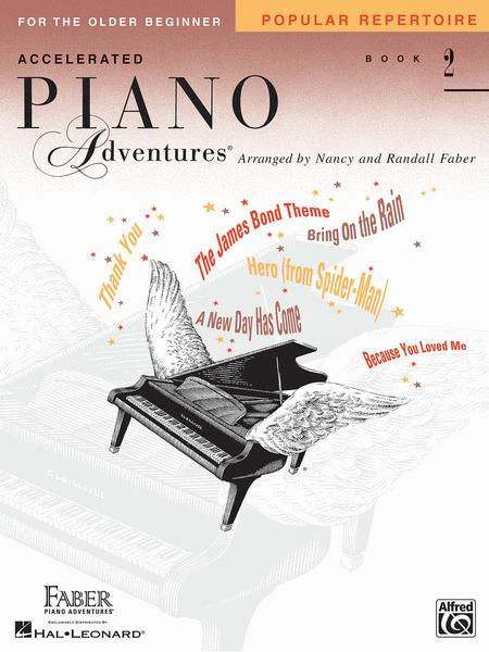 Piano Adventures Accelerated Pop Repertoire Book 2