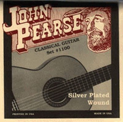 John Pearse Strings Classical #1100 Silver Plated Wound