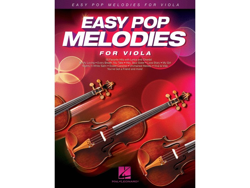 Easy Pop Melodies Viola