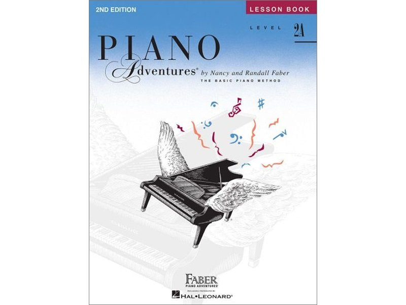 Faber Piano Adventures Level 2A Lesson Book