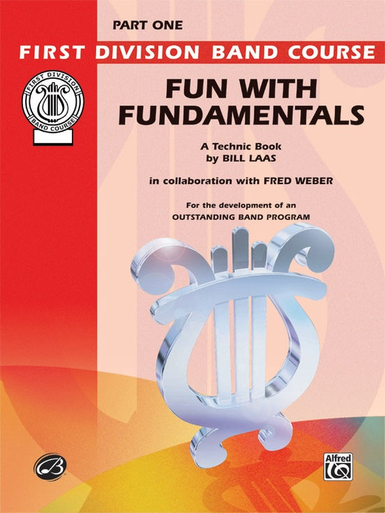 Alfred First Division Band Course Fun with Fundamentals Flute