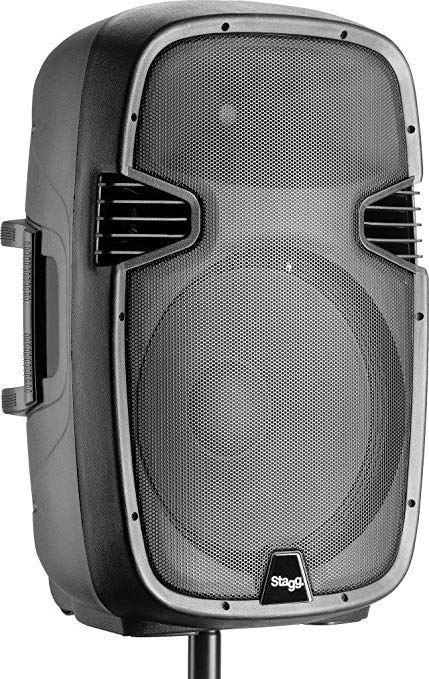 Stagg PMS15 US 15-Inch Active Speaker with Bluetooth and Reverb