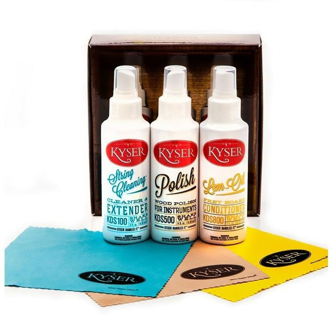 Kyser Instrument Care Kit KCPK1