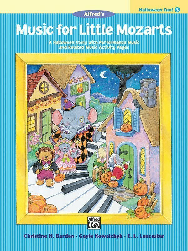 Music for Little Mozarts Halloween Fun Book 3