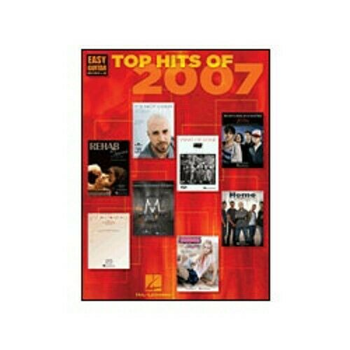 Top Hits 2007 Easy Guitar