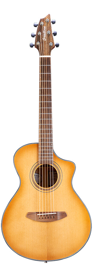 Breedlove Organic Collection Signature Companion Copper CE Torrefied European-African Mahogany