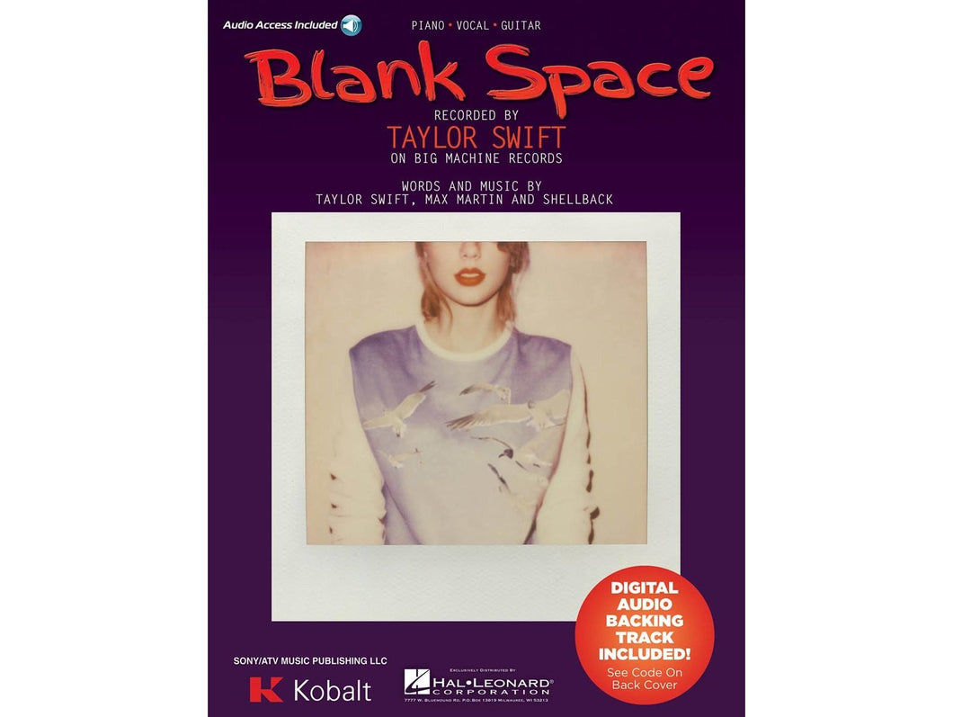 Blank Space - Taylor Swift Sheet Music