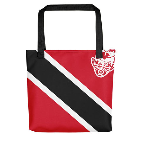 Island Flag - Trinidad and Tobago Tote Bag - Trini Jungle Juice Store