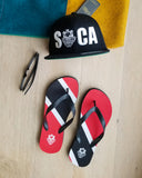 Island Flag - Trinidad and Tobago Flip Flops - Trini Jungle Juice Store