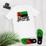 Heritage - Martinique Men's Premium Fitted T-Shirt - Trini Jungle Juice Store