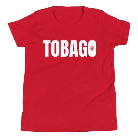 LOCAL - Tobago Youth T-Shirt (White Print)