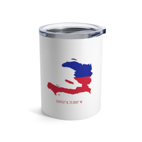 LOCAL - Haiti Tumbler (White 10 oz) - Trini Jungle Juice Store