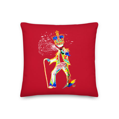 Traditional Mas Characters - Fancy Sailor Throw Pillow