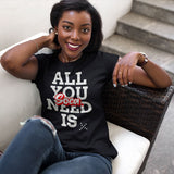 All You Need Is Soca Unisex T-Shirt (Black)