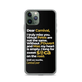 Letter to Carnival iPhone Case - Trini Jungle Juice Store