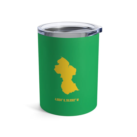 LOCAL - Guyana Tumbler (10 oz) - Trini Jungle Juice Store