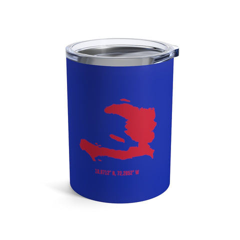 LOCAL - Haiti Tumbler (Blue 10 oz) - Trini Jungle Juice Store