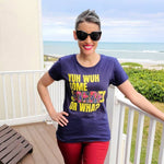 A Taste of the Caribbean - Yuh Wuh Some Sorrel Or Wha? Women's Fashion Fit T-Shirt