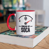 Fueled By Soca Mug (Color Inside) - Trini Jungle Juice Store