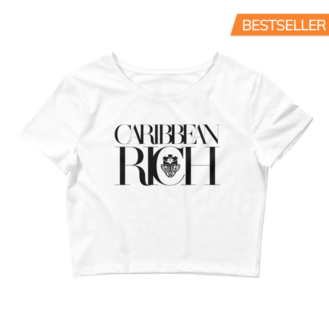 Caribbean Rich - Women's Crop Tee