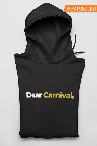 Letter to Carnival Unisex Premium Hoodie - Add Personalize Signature! - Trini Jungle Juice Store