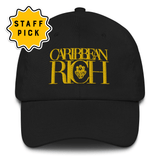 Caribbean Rich Dad Hat (Gold) - Trini Jungle Juice Store