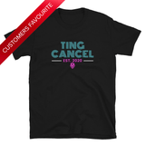 Caribbean Sayings - Ting Cancel Unisex T-Shirt - Trini Jungle Juice Store
