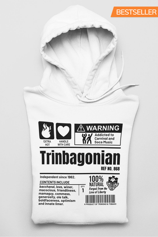 A Product of Trinidad and Tobago - Trinbagonian Unisex Premium Hoodie
