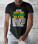 A Taste of the Caribbean - Jamaican Food Unisex V-Neck T-Shirt