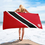 Beach Towel - Trinidad and Tobago Flag - Trini Jungle Juice Store