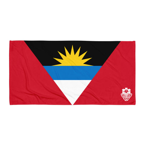 Beach Towel - Antigua and Bermuda Flag - Trini Jungle Juice Store