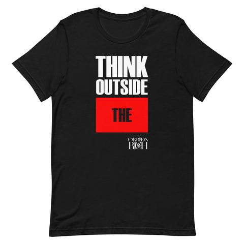 Caribbean Rich - Think Outside The BOX Unisex T-Shirt - Trini Jungle Juice Store