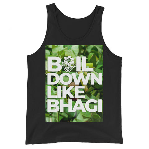 Caribbean Sayings - Boil Down Like Bhagi Unisex Tank Top