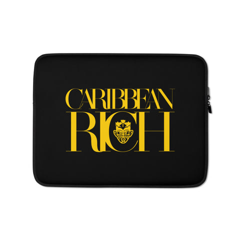 Caribbean Rich - Laptop Sleeve - Trini Jungle Juice Store