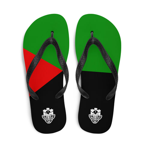 Island Flag - Martinique Flip Flops